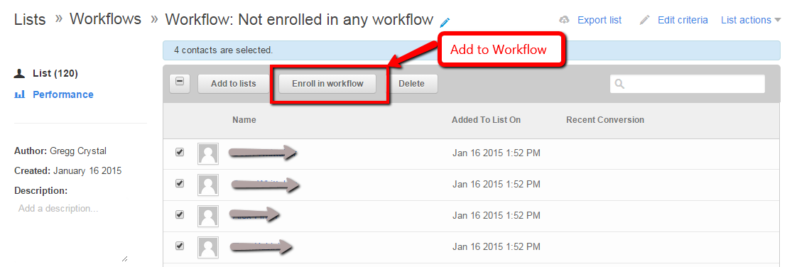 How To Create Lists Based on Workflows