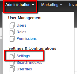 Sitefinity-Administration-Settings