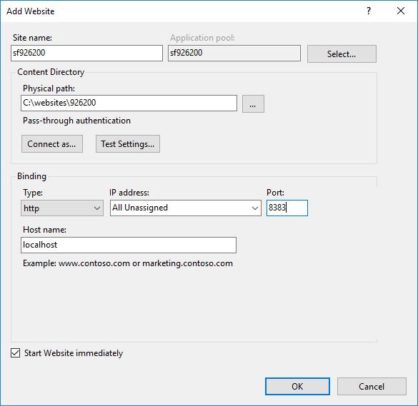 Running Sitefinity Locally Within IIS