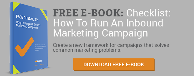 Download Free Checklist: How to Run an Inbound Marketing Campaign