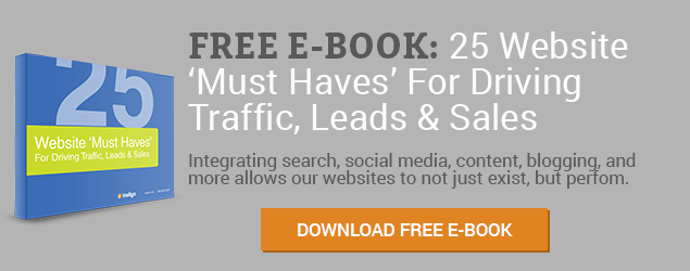 Download 25 Website 'Must Haves' For Driving Traffic, Leads & Sales