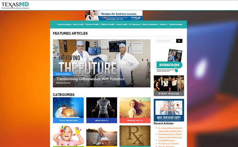 TexasMD Homepage